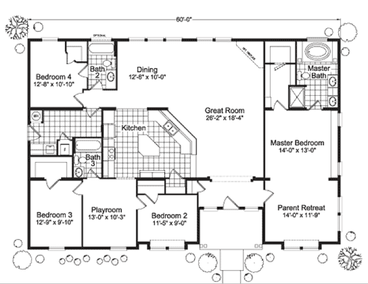 Floor Plan Enlarge Want