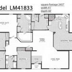 Floor Plans Mobile Homes Triple Wide