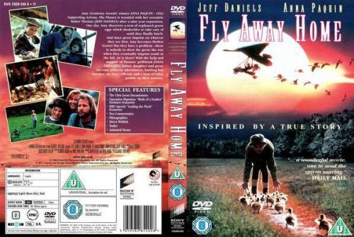 Fly Away Home Front Cover French