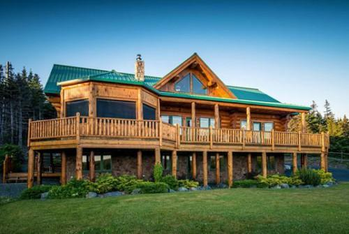 Forget Traditional Log Cabins Million Dollar Mansion