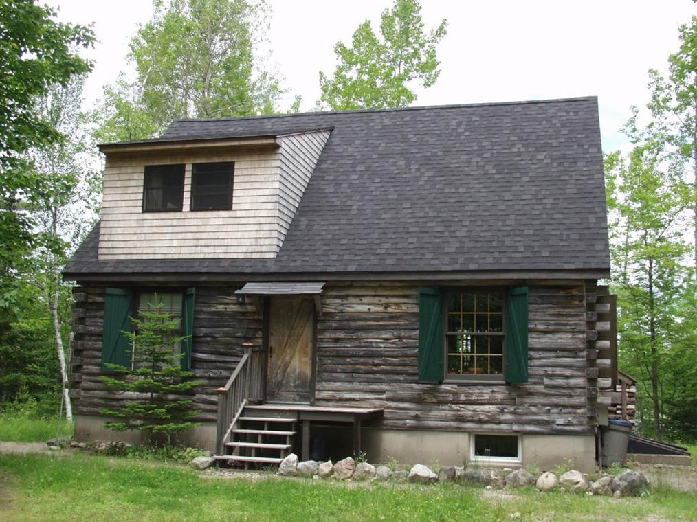 Front Log Cabin Sale Maine
