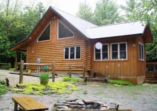 Frontier Log Home Meaford Ontario