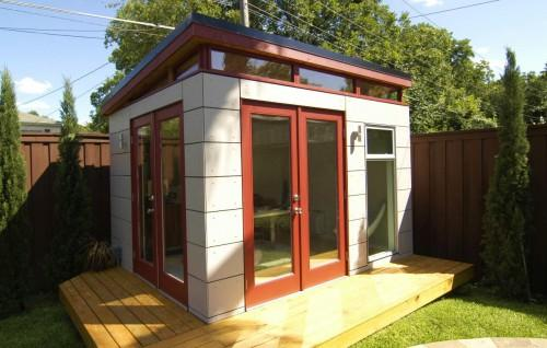 Garden Decoration Design Various Prefab Studio Shed
