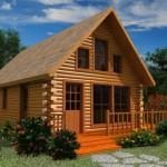 Gasconade Log Cabin Floor Plan