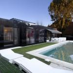Glass Prefab Homes Black Modular Home Design Cero