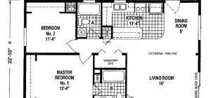 Good Mobile Home Plans Double Wide Floor