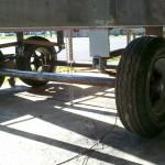Got Wheels Luckily Dad Ginormous Lift Able Jack