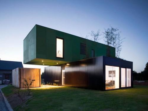 Great Design Contemporary Modular Home Minimalist Style