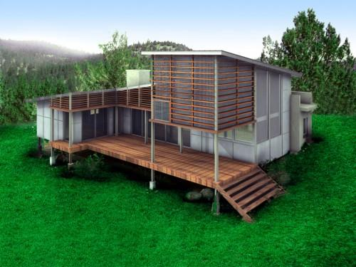 Green Architecture House Plans Plan