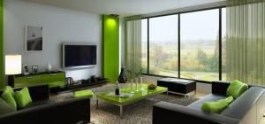 Green Furniture Design Living Room