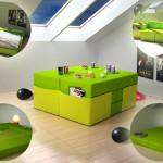 Green Home Furniture Creative Versatile Multiplo