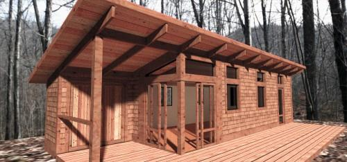 Green Living Spaces Micro Home Model