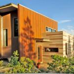 Green Off Grid Shipping Container Home