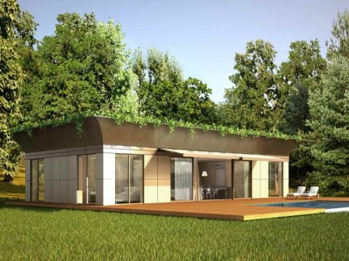 Green Prefab Homes Design
