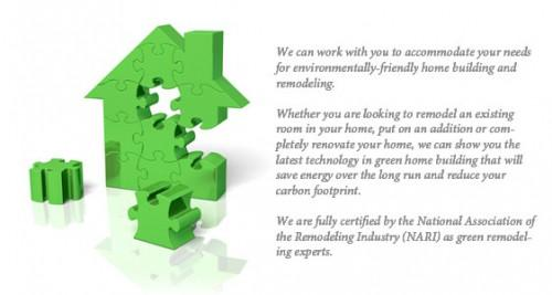 Green Remodeling Certified Professional Remodelers