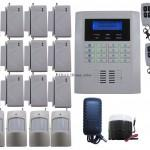 Gsm Pstn Wireless Home Security Alarm Burglar System Sms Call