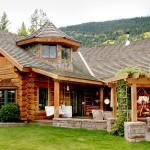 Handcrafted Chink Style Log Home Built Bonners Ferry Idaho