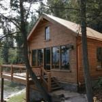 Handcrafted Hand Hewn Dovetail Home Caribou Creek Log Homes