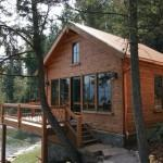 Handcrafted Hand Hewn Dovetail Log Home Caribou Creek Timber