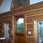 Handcrafted Log Home Chinking