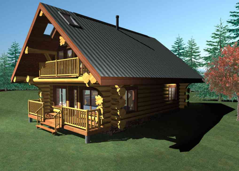 Handcrafted Log Homes Cabins Slokana