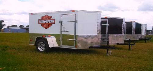 Harley Davidson Trailers Enclosed