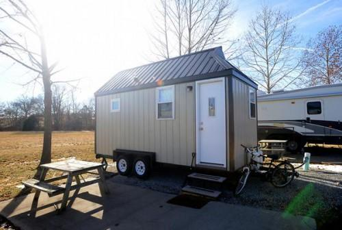 Harris Her Father Paul Built Square Foot Mobile Home