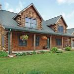 Hastings Area Log Home Acres Sale Loghome