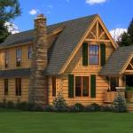 Haven Log Home Plan