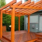 Here Can Really Unique Shape Finished Pergola