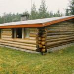 Here Typical One Story Log Home Most Have Severe Height