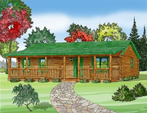 Heritage Modular Log Home