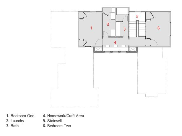 Hgtv Green Home Floor Plan Rendering
