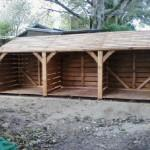 High Quality Handmade Log Stores Individually Made Order