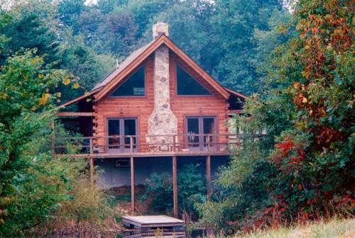 Hills Lodge Hocking Log Cabin Couples