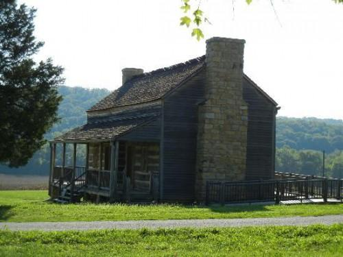 Historic Daniel Boone Home Heritage Center Old Log Cabin Moved