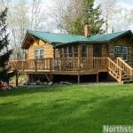 Holcombe Log Home Sale
