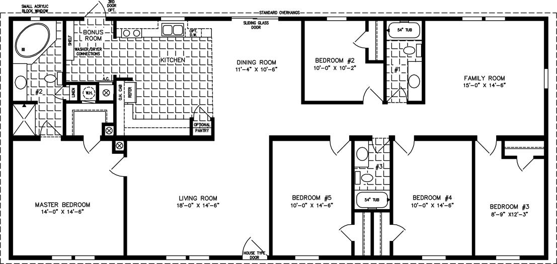 Holiday Builders Five Bedroom Homes Florida New