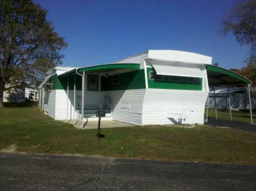 Holly Park Front Kitchen Mobile Home
