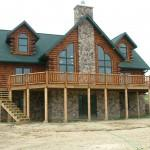 Home Custom Built Log Homes