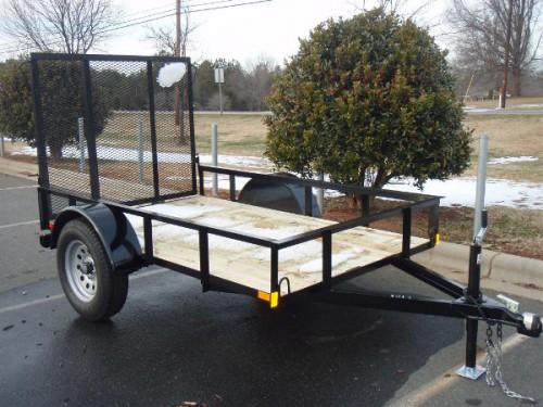 Home Depot Utility Trailer