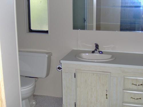 Home Hardwood Flooring Throughout Mobile Bathroom Remodeling