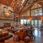 Home Interior Log Cabin Design Ideas Decorating Luxury