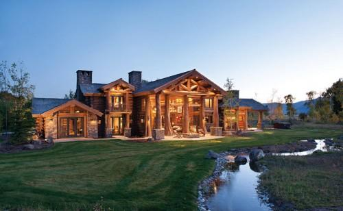 Home Precisioncraft Log Timber Homes Being Featured