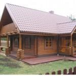 Home Round Log Cabin