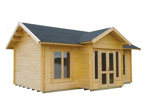 Home Shop Cabins Large Clubhouse Cabin Kit