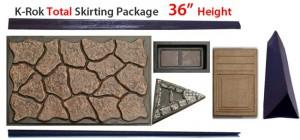 Home Skirting Rok Stone