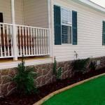Home Skirts Rock Look Skirting Mobile Homes