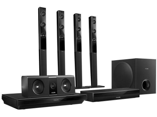 Home Theater Philips Htb Blu Ray Canais
