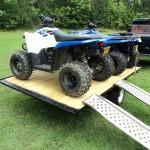Homemade Atv Trailer Loadin Ride
